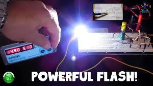 12v Strobe Light Circuit Worlds Simplest Led Flasher Strobe Circuit 9 5v 14v