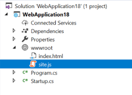 Creating a Basic Web Site From an ASP.NET Core Empty Project - DZone ...