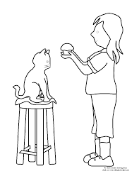 Small Picture If You Give A Cat A Cupcake Coloring Pages gallery