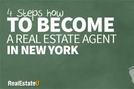 4 Steps How To Become A Real Estate Agent In New York Real Estate U