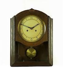 beautiful antique junghans wall clock 3