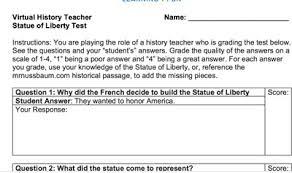 Mr Nussbaum History George Washington Activities