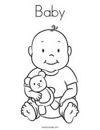 Small Picture Baby Coloring Page Twisty Noodle coloring pages baby isrs2011