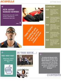 Magazine Content Page Layout Design Contents Page Layout Ideas Annapritchards Blog