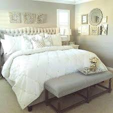 Grey White Gold Bedroom White And Gold Bedroom Decor Bedroom Decor ...
