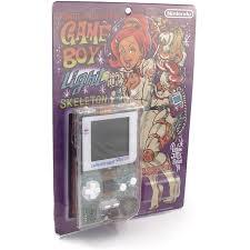 Famitsu Skeleton Game Boy Light Game Boy Light Console Famitsu Exclusive Model Skeleton