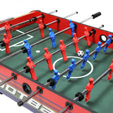 table football. bentley-table-football-red-and-blue-2 table football