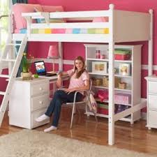 kids beds with storage and desk. Plain Kids Storage Kids Decorating Engaging Kids Bed With Desk 18 Bed With  Desk Below In Beds And