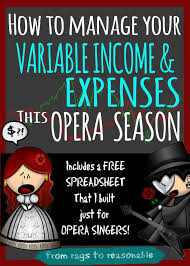 How To Manage Your Variable Income And Expenses This Opera