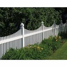 Scalloped vinyl picket fence Cape Cod Image Is Loading Pvcwhitevinylpicketfencing4039high Ebay Pvc White Vinyl Picket Fencing 4 High 8 Wide Straight Or