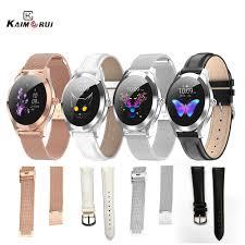 Original KW10/KW20 <b>Smart Watch Strap</b> Stainless Steel/<b>Leather</b> ...