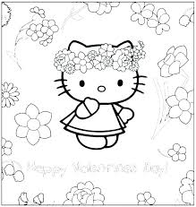 Hello Kitty Coloring Pages To Print Hello Kitty Coloring Pages For