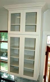 display wall cabinets glass door s small wall display cabinets with glass doors
