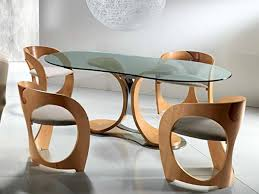 Unique Kitchen Tables For Kitchen Table Contemporary Dining Room Furniture Set With Glass
