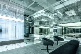 gallery office glass. Glass Office SOHO China,© Jerry Yin Gallery F