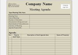 agenda template word free meeting agenda template word format v m d com