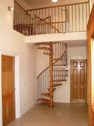 Fabulous Small Space Staircase Design For Your House : Beautiful Interior  Design Ideas With Spiral Small