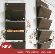 Door Magazine Holder Oxford Fabric Bedside Pocket Storage Bag Hanger Rack Magazine 2