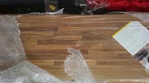 brand new homebase 3m long light walnut block laminate worktop rrp 169