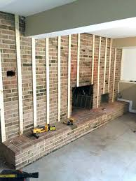 fireplace refacing cost reface brick fireplace makeover is the best how to build a redo design fireplace refacing