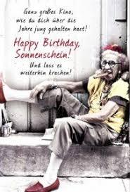 Lustige Grußkarte Zum Geburtstag Happy Birthday Sonnenschein