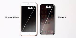 iphone 6 screen size inches iphone x screen size versus iphone 8 plus business insider