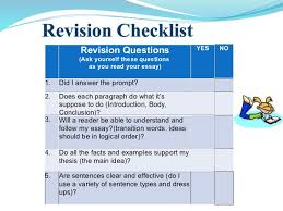 essay writing power point  18 revision questions ask