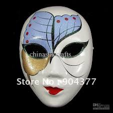 Decorative Masquerade Masks Full Face Masquerade Masks For Women Paper Mache Decorative Party 43