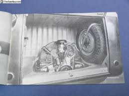 thesamba vw clifieds 1949 vw barndoor bus s brochure reprint