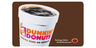 dunkin donuts gift card value photo 1