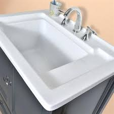 undermount rectangular bathroom sink 30 infinite wide rectangular stainless steel undermount