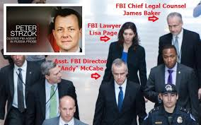 Image result for Strzok confirms Trump's message