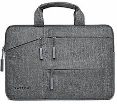 <b>Satechi Water-Resistant Laptop</b> Bag Carrying Case w/ Pockets fits ...