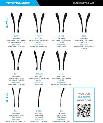 Ccm Blade Chart Exact Ccm Hockey Stick Flex Chart Easton Hockey Blade Curve