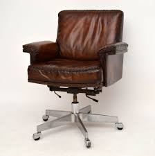 Office Chair Leather Extraordinary Design For Vintage Leather Office Chair 57 Office