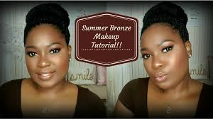 summer bronze glow makeup tutorial dania lanese