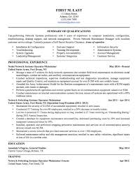 Military To Civilian Resume Template 78 Images Resume Examples