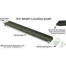 carrier ramp. dimensions and features of the motorcycle carrier ramp option ,