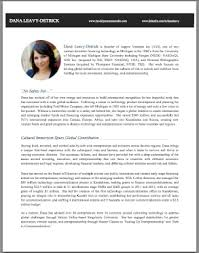 Resume Bio Example 20 What To Include In A Biography - uxhandy.com