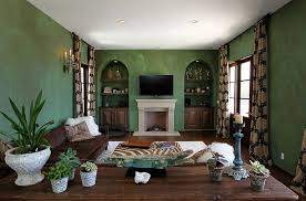 Awesome 20 Gorgeous Green Living Room Ideas