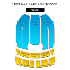 Carolina Seating Chart Carolina Theatre Greensboro 2019 Seating Chart