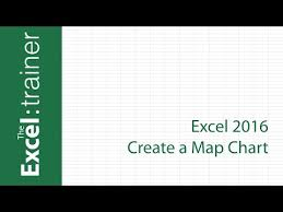 Excel 2016 Map Chart Missing Excel 2016 Create A Map Chart Youtube