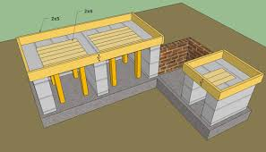 Cinder Block Outdoor Kitchen Outdoor Kitchen Plans Free Howtospecialist How To Build Step