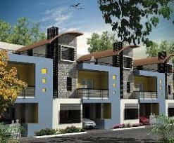 bhk row house d plan   GharExpert bhk row house d planRow House bhk row house d plan
