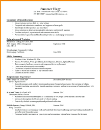 Whats A Good My Professional Resume Simple Resume Maker Resume