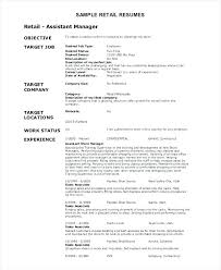 Objective For Resume Sales Best of Samples Of Objectives On Resumes Francistan Template
