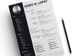 Cv Resume Template Fascinating Resume Template Sketch Freebie Download Free Resource For Sketch