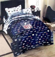 nfl bed set bedding football bed sheets sets co nfl queen bed set