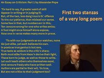 essay on criticism analysis alexander pope custom best essay essay on criticism analysis alexander pope