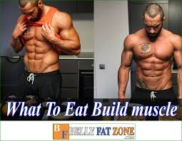 eat when working out to build muscle